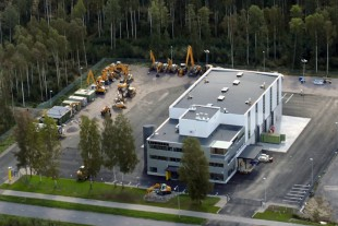Corporate building of Liebherr-Finland Oy Ab in Tuusula near Helsinki