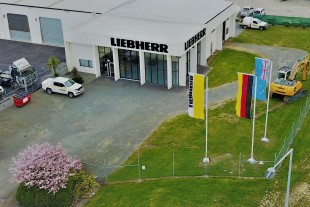 Office of Liebherr New Zealand in Christchurch