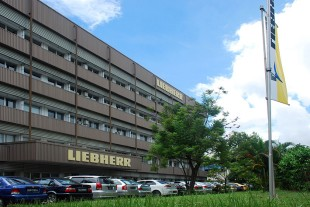 Head office of Liebherr-Singapore Pte Ltd which was founded in Singapore in 1989