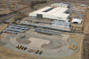 Head office of Liebherr-Africa (Pty.) Ltd. in Springs