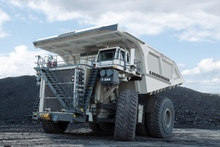 Mining Trucks fertigt Liebherr am Standort Newport News, Virginia.