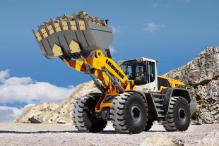 The L 586 XPower wheel loader.