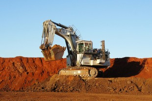 Mining excavators from Colmar are used widely in open-cast mining.
