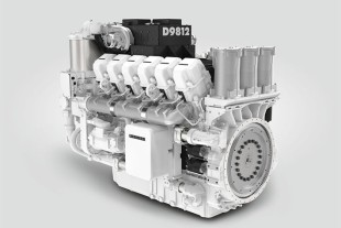 Liebherr Large Diesel Engine : The D9812