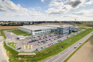 Subsidiary plant of Liebherr-Components Biberach GmbH at the airfield site