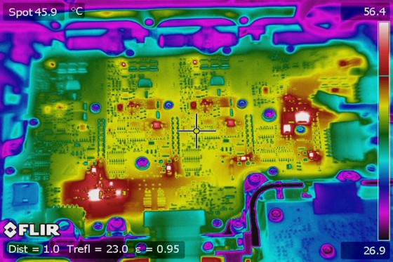 Infrared thermal analysis