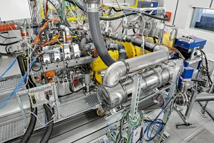 Test benches for Liebherr diesel engines in Bulle (Switzerland)