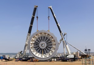 Mobile cranes from Liebherr