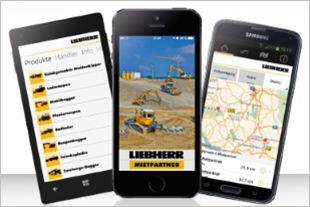 Discover the Liebherr Rental Services app