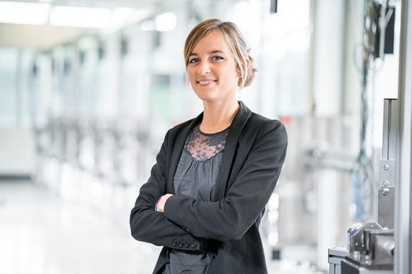 While writing her bachelor's thesis, she became familiar with the Liebherr Group and knew straight away that the company was the perfect place for her to start her career.