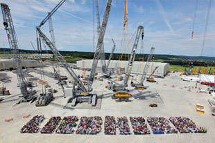Employees of Liebherr-Components Colmar SAS