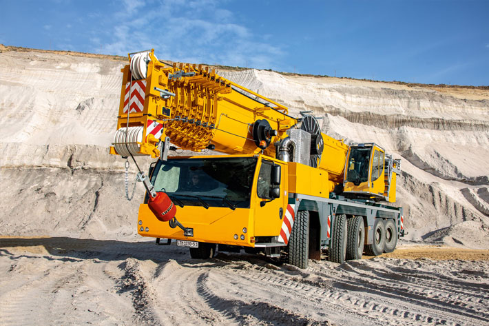 Mobile cranes at 2019 Bauma - Liebherr