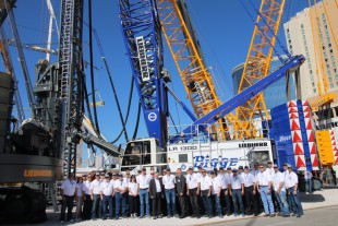 Another crawler crane LR 1300 for Bigge Crane & Rigging