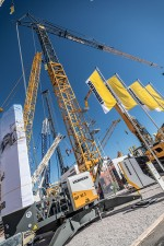 The general benefits of fast-erecting cranes include the rapid erection and versatility in use