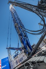 An innovation for the North American market from the world of deep foundation work: the LRH 600 piling rig