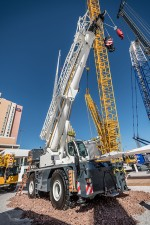 Liebherr has extended its mobile crane product portfolio with a series of rough-terrain cranes