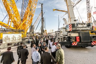 The Liebherr Group welcomed over 140,000 visitors at Conexpo-Con/Agg