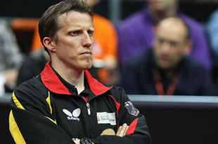 Since August 2010, Jörg Roßkopf has been the German men's national table tennis trainer.