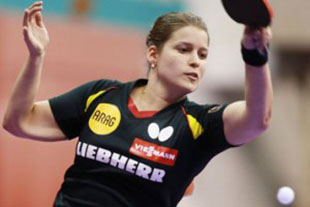 Petrissa Solja is a strong prospect from the German female table tennis team and became the female German singles champion in 2015.