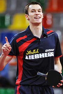 In 2015, Austrian table tennis player Stefan Fegerl became European Champion in the doubles and with the Austrian team.