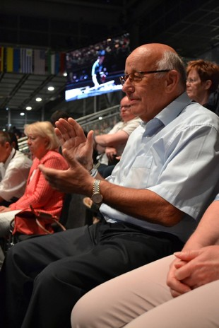 Robert Bausch, former CEO of Liebherr-International Deutschland GmbH, is very excited to attend the games
