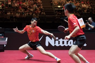 With four titles in five competitions, the Chinese players once again showed their dominance.