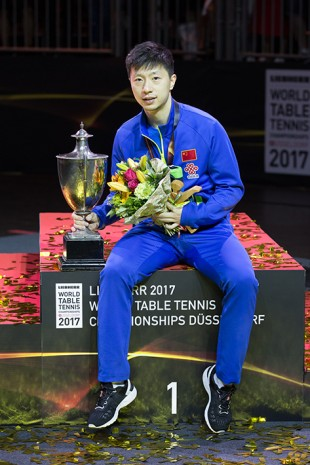 Former and new world champion: Ma Long.
