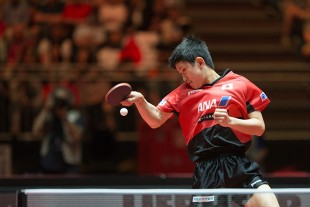 Table tennis up-and-coming talent, Tomokazu Harimoto, made it into the World Championships quarter-finals at the young age of 13.