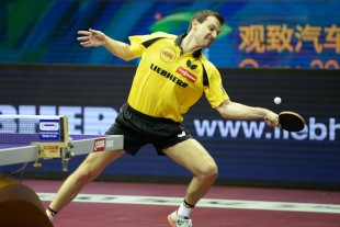 Timo Boll wants to convince in front of the local audience