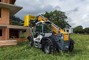 Liebherr TL 33-10 telescopic handler: New development in the 10 m class.