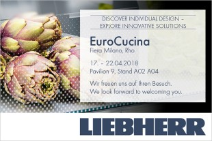 Liebherr looks forward to seeing you this year in Pavilion 9, Stand No. A02 A04.