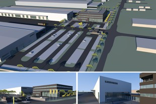 Liebherr's new expansion in Newport News, VA