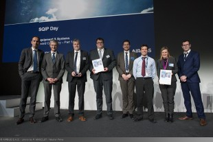 "A very successful participation of the Liebherr-Aerospace Team in the Airbus ""SQIP Day"" 2018"