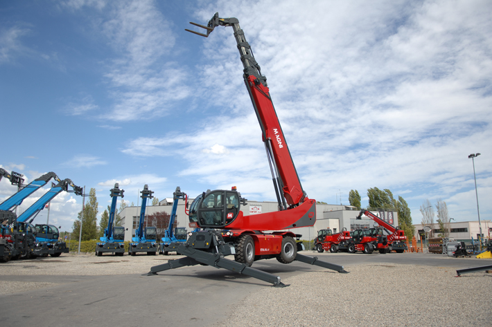 Liebherr delivers slewing drives for Magni telehandlers