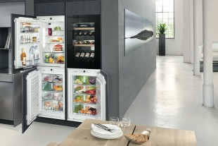 Individual kitchen equipment: With the new modular concept from Liebherr the various fridge and freezer units can be combined in virtually any way.