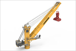 New Liebherr high performance four-rope-grab crane design CBG 360.