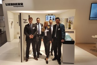 Hannover Messe 2018: Liebherr presents new product developments in electronics and hydraulics
