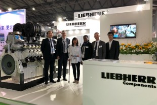 Liebherr features its megawatt-class engine G9620 at G-Power 2018