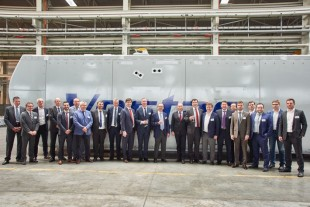 Vestas opens an assembly line for wind turbine nacelles on Liebherr site in Russia