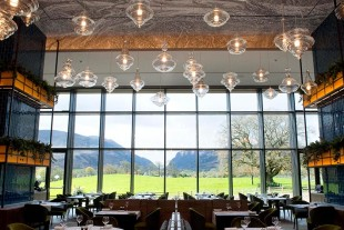 The double height window in The Grill Restaurant ensures that everyone will be able to take in the beauty of the Gap of Dunloe.