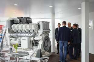 Liebherr introduces its D9812 diesel engine for mining applications to the Russian market