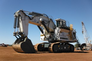 Macmahon's R 9800 ready to work at Byerwen Coal Mine.