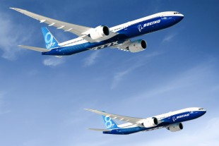 The 777X program was launched by Boeing with the two variants 777-8 and 777-9. - © Boeing.
