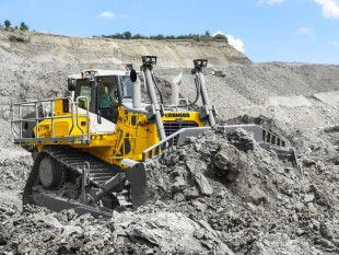 The Liebherr crawler tractor PR 776 is suitable for mining and quarry operations.