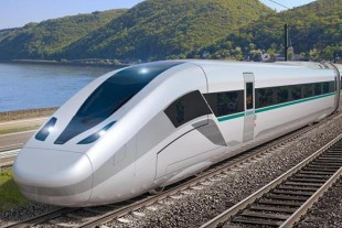 Liebherr will develop the actuators for the brake resistor flaps of the Velaro Novo. - © Siemens