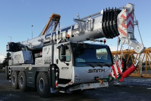 Smith Crane & Construction's LTM 1060-3.1.