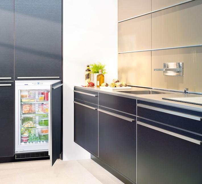 Superkomfortabel, die neuen NoFrost Einbau-Gefrierschränke - Liebherr