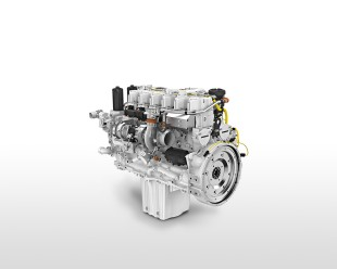 Liebherr diesel engine D936-A7 with own common rail injec-tion and motor control unit