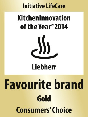 "The ""Favourite Brand Gold"" award is the highest recognition companies can receive as part of the ""Kitchen Innovation of the year"" consumer award."