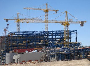 1250 HC tower cranes at the
